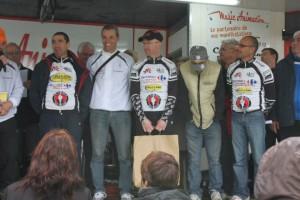 Bourbonnais podium equipe