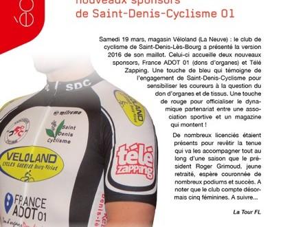 C'est un bel article que notre ami Ludovic Miel a rédigé dans le numéro 201 du magazine TELE ZAPPING (2 au 15 avril)