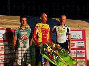 Varennes podium