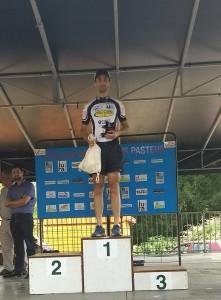 Louis Pasteur Cedric podium