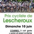 Le SDC organise le dimanche 10 juin le prix de Lescheroux FFC où il y aura 2 épreuves : Une pour les 3ème caté, junior et Pass Open et une […]