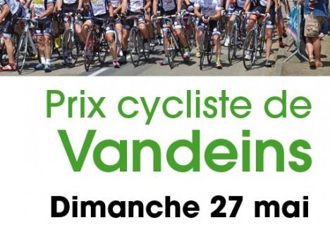 PRIX DE VANDEINS 3/J/PCO [01]ST DENIS CYCLISMECat 3, Juniors & PCO CIRCUIT : 8km x 12 tours DISTANCE: 96km DOSSARDS : à 13H30 –Salle des Fêtes DEPART : 14H30 – […]