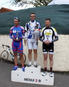 Vénissieux podium Sylvain