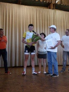 Coligny podium Valentin