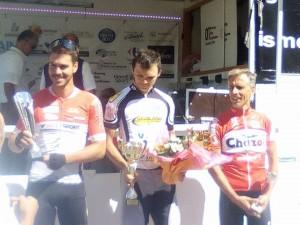 Chavannes Robin podium