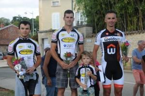 Prix de Coligny podium