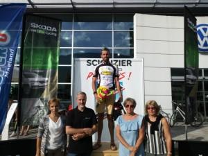 Scionzier podium Xavier